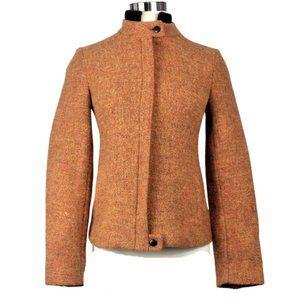 Zara Wool Waist-Length Zipper Jacket Size Small